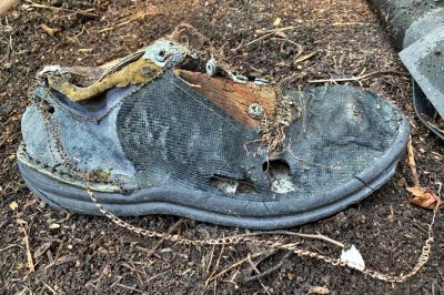 Composted shoe