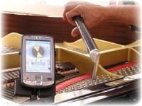 Stemapparaat voor pianostemmers
