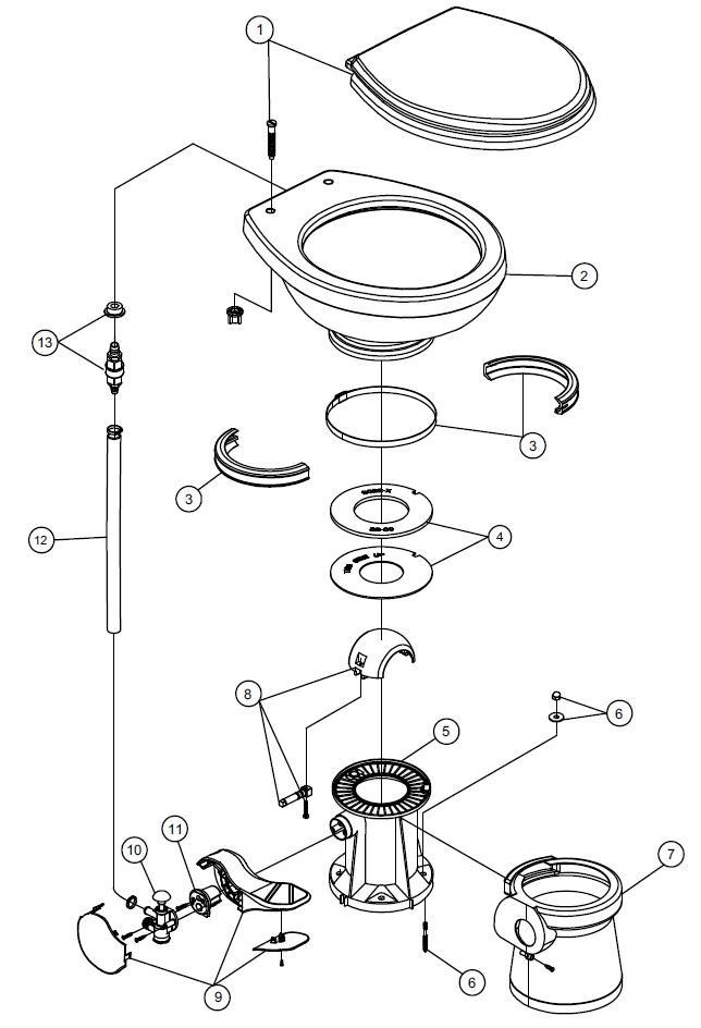 Saniflo Spare Parts Diagram Newmotorwall