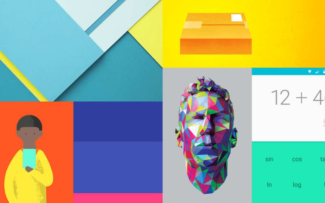 Color theory and Google design