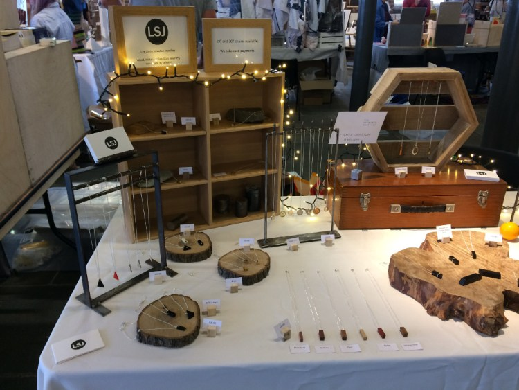 lee soren johnston jewellery at the hepworth summer fair 2018-2
