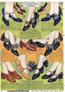 1920s vintage shoes