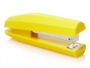 gele nietmachine bijenkorf