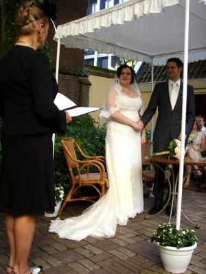 LeesVoer Bruiloft chuppah