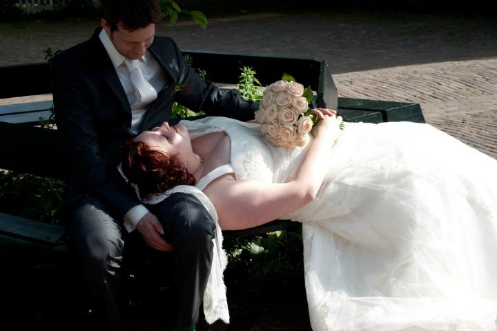 LeesVoer Bruiloft bankje