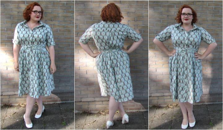 LeesVoer art nouveau jurk 4