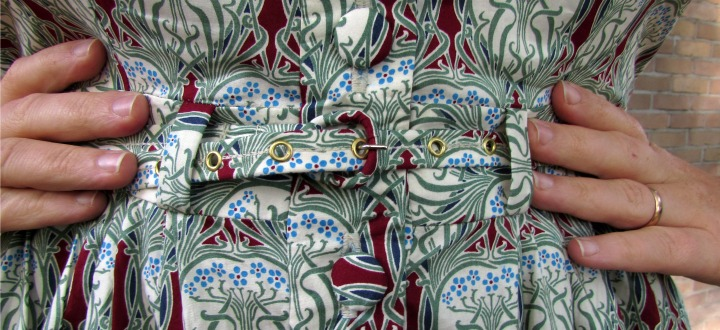 LeesVoer art nouveau jurk 7