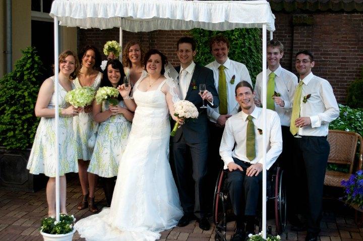 LeesVoer bruiloft groepsfoto