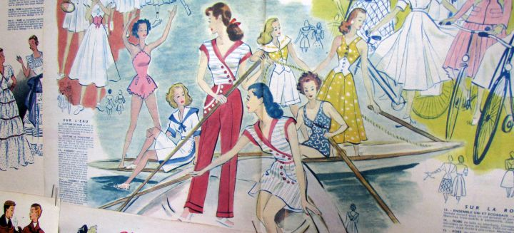 vintage franse modetijdschriften 4