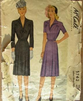 vintage patronen mccall 5742