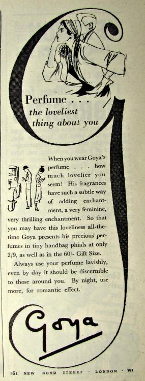 vintage reclames perfume