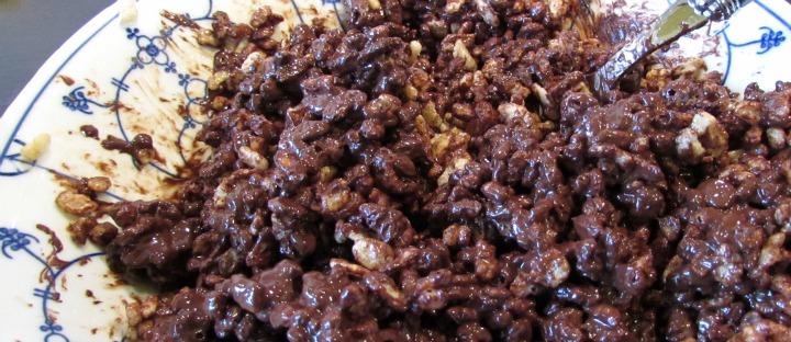 kinder christmas pudding recept blog leesvoer chocolade gepofte rijst