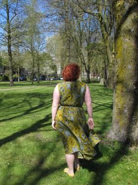 Afrikaanse stof rok en top, wax neerlandais, leesvoer-2