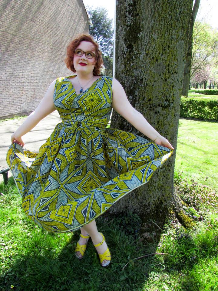 Afrikaanse stof rok en top, wax neerlandais, leesvoer-25
