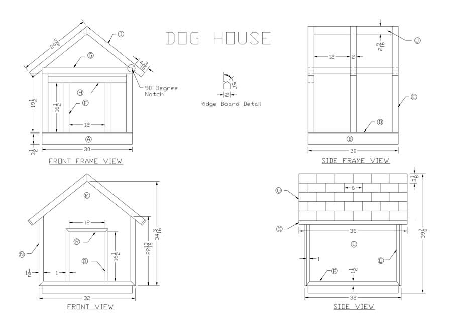 20 Free Dog House Diy Plans And Idea S For Building A Kennel