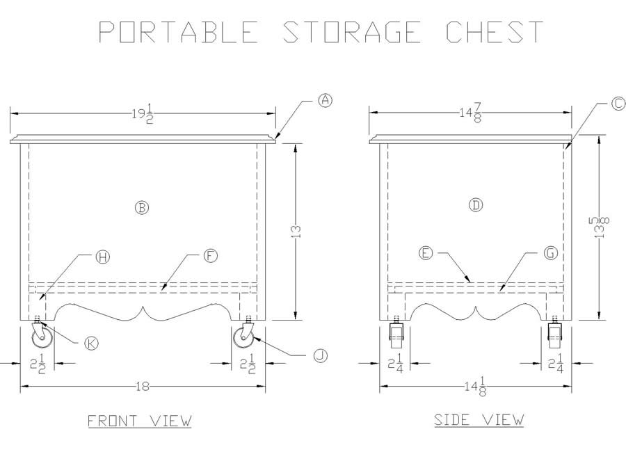 plans for wood chest