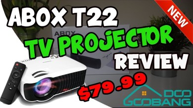 ABOX T22 PROJECTOR REVIEW - HOME CINEMA??