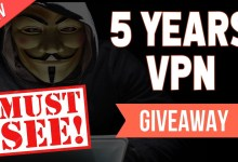 Get 5 YEARS IvacyVPN for FREE + LIFETIME VPN Giveaway!!!!!