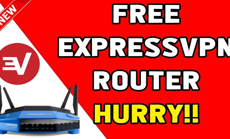 Get a FREE ExpressVPN Router + 12 MONTHS FREE VPN