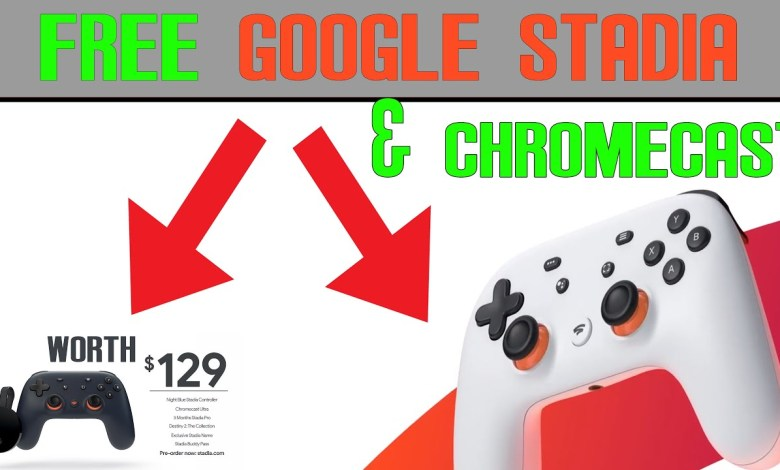 Google Stadia and Chromecast Ultra   How to get them for FREE!!!!