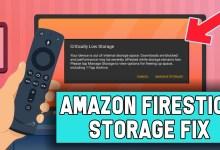 How to fix CRITICALLY LOW on storage error (Firestick)