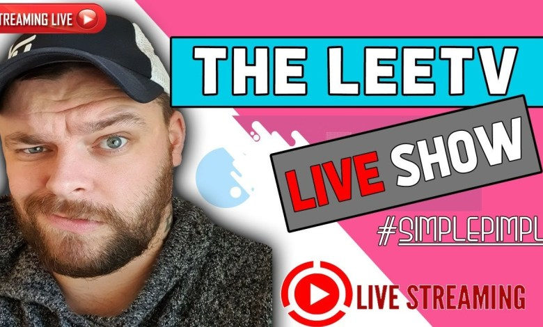 LeeTV Live Show - Sunday Chat and Chill :)