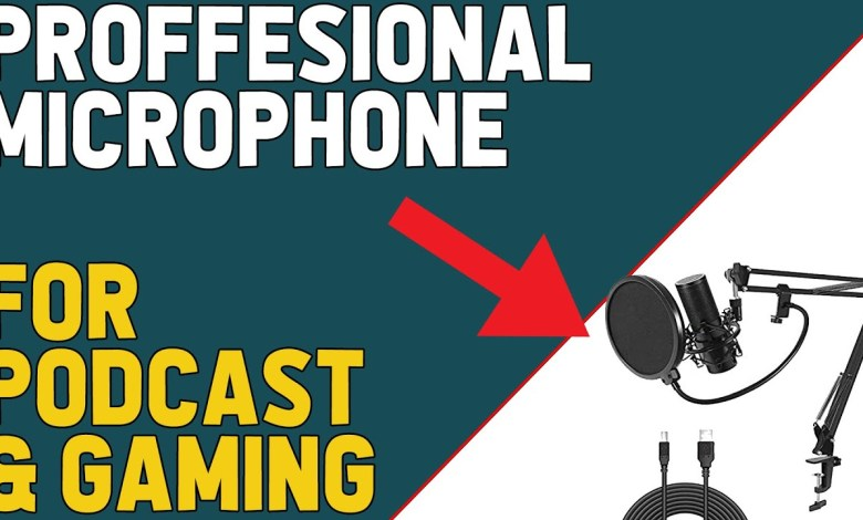 Tonor Q9 Microphone Review 2020