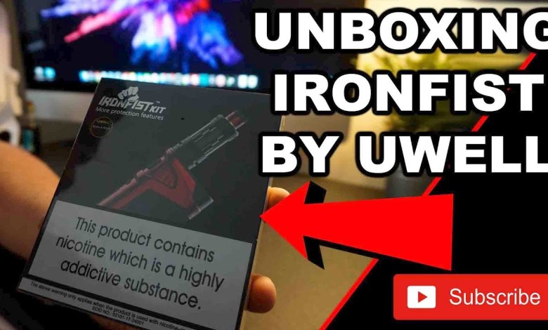 UWELL IRONFIST 200w UNBOXING + CROWN 3 TANK REVIEW