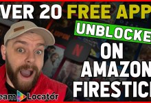 Unblock over 20 FREE streaming apps on Amazon Firestick 🔥