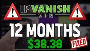 ipvanish 12 month deal