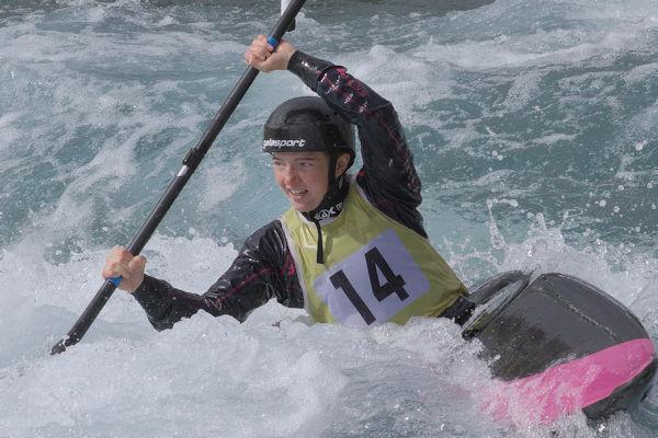 Canoe Slalom: Team GB selection series 2018