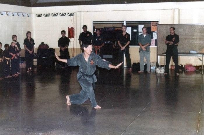 Leeward Kenpo 1980s class