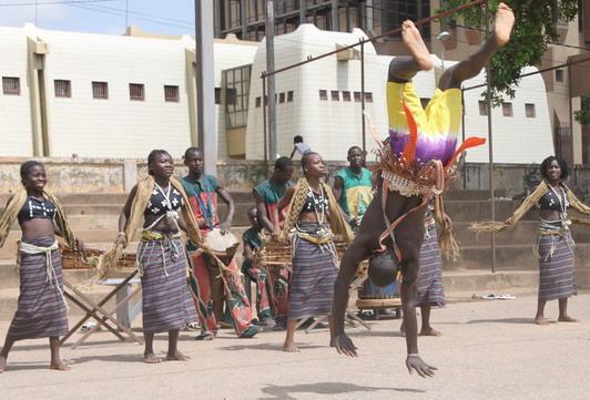 Démonstration de danse traditionnelle