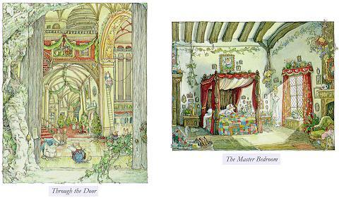 Ingresso e camera da letto del Palazzo della vecchia Quercia