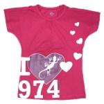 Top Fillette I Love 974