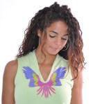 Teeshirt vert Perroquet - L'effet Péi