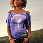 Tee-shirt Sunset - Run Island