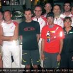 Kilian Jornet ainsi que les Teams L'effet Péi & Salomon au Soluna Kafé