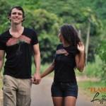 T-shirt homme et femme Flamboyant - L'effet Péi Réunion