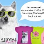 De nouveaux t-shirts pour les filles !