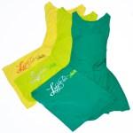 Robes Straply jaune, vert anis et vert