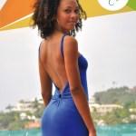 Robe longue Uma - Bleu Roi - L'effet Péi - Mode in Réunion