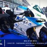 L'effet Péi partenaire de la team Scuderia Deux Roues - Bol d'Or 2013