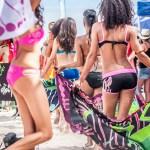 Défilé de maillots de bain L'effet Péi à l'Eco Beach Tennis 2013 - La Réunion