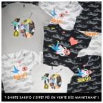 T-shirts Sakifo L'effet Péi