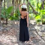 Robe Elena noir - Mexique - Blog 100 pour 100 soie