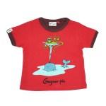T-shirt Geyser Péi - rouge