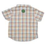 Chemise à carreaux marmaille - Schot jaune