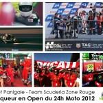 L'effet Panigale vainqueur en Open du 24h Moto 2012