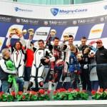 L'effet Panigale sur le podium du Bol d'Or 2013 - Circuit de Magny-Cours